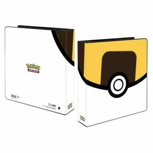 Ultra Pro 2 Inch Trading Card 3-ring Album Pokemon Ultra Ball Collectable